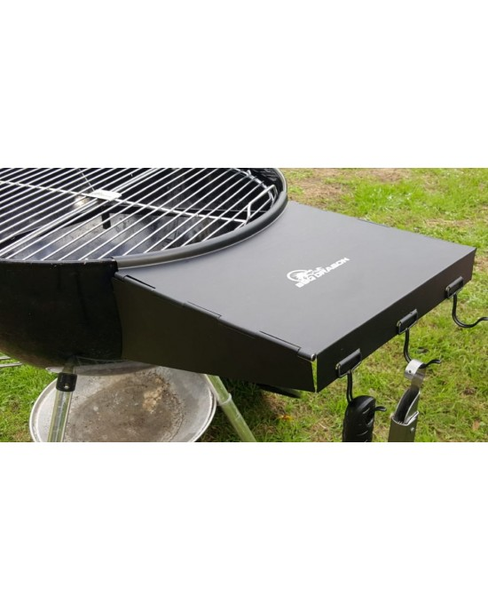 BBQ Dragon Wing  Side Table for Charcoal Grills