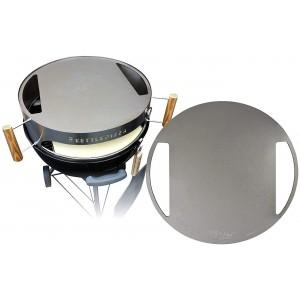 KettlePizza 57cm Baking Steel – Stainless Steel