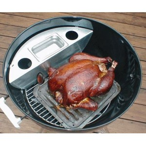 KettlePizza Smokenator 1000 for Weber 57cm Kettle Grills