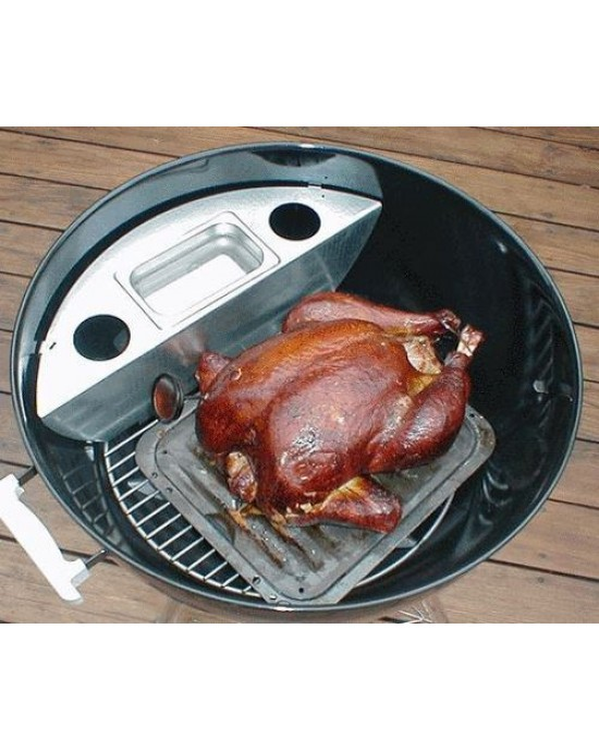 KettlePizza Smokenator 180 - for Weber 47cm Kettle Grills