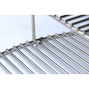 SnS Elevated Cooking Grate Nickel Plated