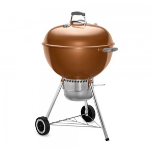 Weber Original Kettle Premium Charcoal Grill 57cm In Copper