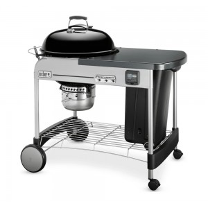 "Weber Performer Premium 57cm (22"") Charcoal Grill in Black - 15401001"