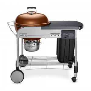 """Weber Performer Deluxe 57cm (22"""") Charcoal BBQ Grill Copper - 15502001"""