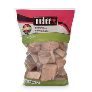 Weber Apple Firespice Smoking Wood Chunks - 17139
