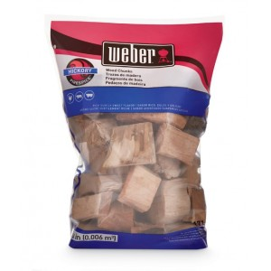 Weber Firespice Smoking Wood Chunks Hickory - 17148