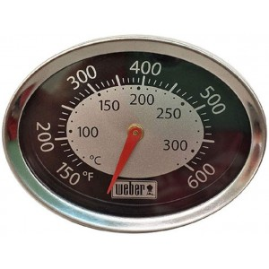 Weber Replacement Temperature Gauge for Q1200 & Q2200 - 60070