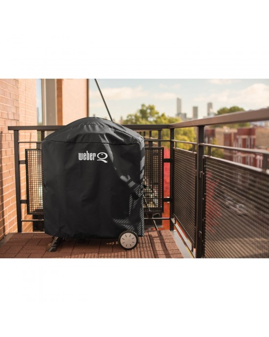 Weber Cover  - Premium for Q1000 and Q2000 Series with Portable Cart- 7113